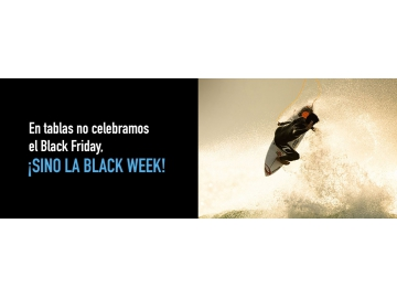 Comienza la BLACK WEEK en TABLAS SURF SHOP