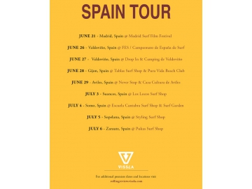 VISSLA ROLLING REVIEW SPAIN TOUR