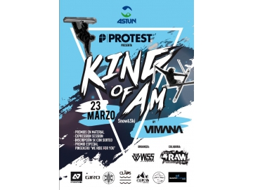 "Llega el campeonato amateur de Ski & Snow ""King of Am"" de Protest"